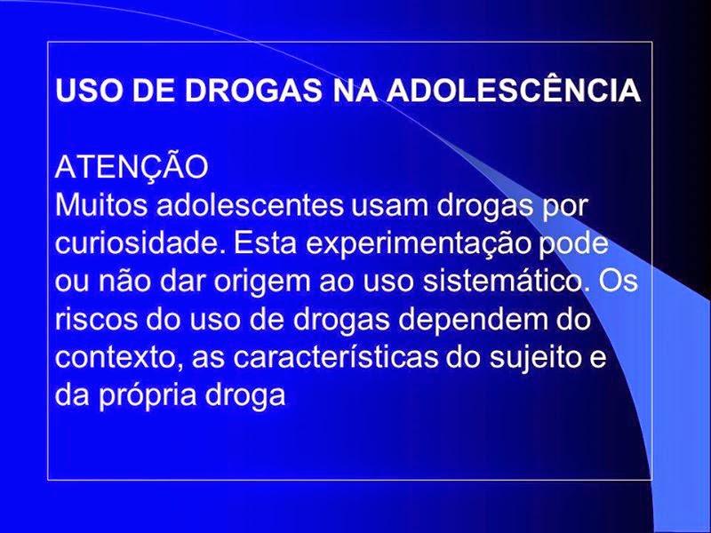 drogas drogas - drogas - Drogas e  Adolescência – Saiba Como Lidar