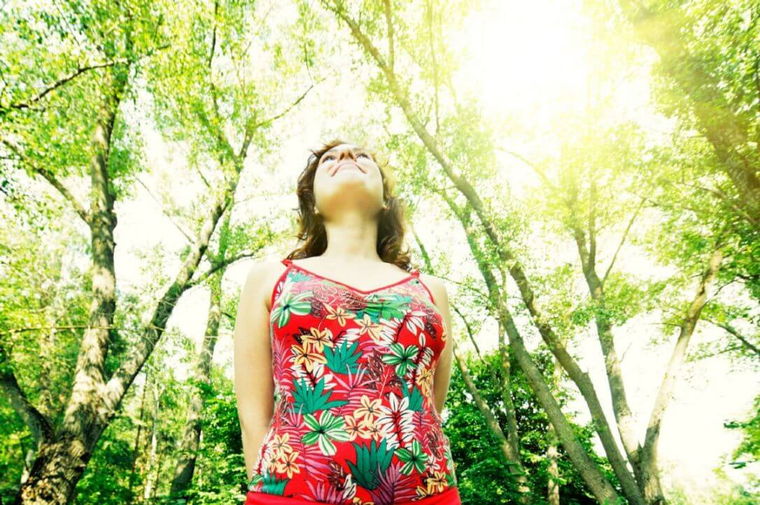 natureza natureza - 3caef7fbd6f60ced Stressed Girl - Pessoas que vivem em contato com a natureza têm uma saúde mental melhor