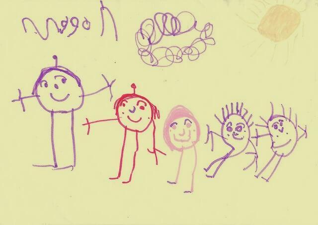teste do desenho da família - teste do desenho da fam  lia - Teste do desenho da família: O que é este teste projetivo e como é usado?